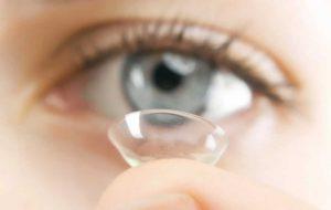 cuidados com lentes de contato